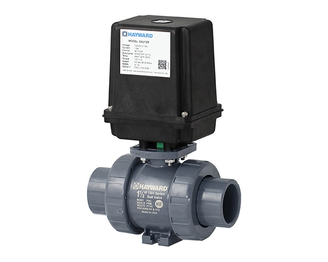 Electrically Actuated True Union Ball Valves