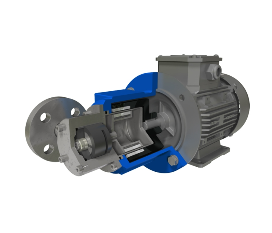 March Pumpen Magnetic Driven Gear Pump Type: MP/MPA