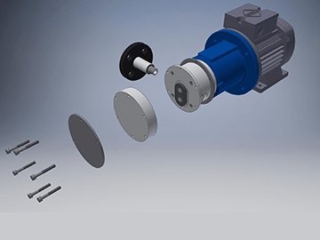 March Pumpen TEF-MAG 200 Non-Metallic Gear Pumps